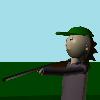 Medve vadász 3D játék