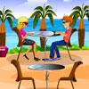 Strand étterem játék