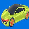Legjobb jövő autó színező játék