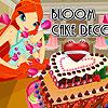 Virágos torta Deco játék