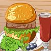 Burger idő játék