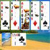 Karib-tenger strand pasziánsz játék