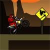 Motorosok a kanyon játék