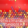 Karácsonyi golyó lövő játék