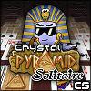 Crystal piramis pasziánsz játék