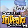 Kristály TriPeaks pasziánsz játék