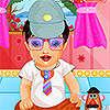 Aranyos baba Dress Up játék