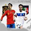 EURO végleges Spanyolország Vs Olaszország játék