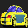 Gyors kimondta autó színező játék