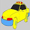 Gyors rendőrségi autó színező játék