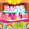 Öt réteg torta játék