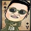 Gangnam pasziánsz játék