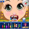 Kislány fogorvos játék