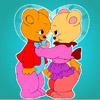 Lovely Bear Coloring játék
