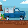 Tejes teherautó játék