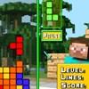 Minecraft Tetris játék