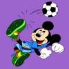 Mickey egér színek játék
