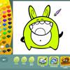 Monsters coloring pages játék