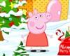 Peppa Pig díszített karácsonyi játék