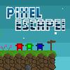 Pixel menekülési játék