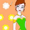 Anna hercegnő színező játék