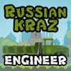 Russian KRAZ 3 Engineer játék