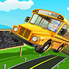 Iskolabusz a parkoló őrület játék