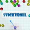 Stickyball játék