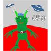 UFO - Martian Coloring játék