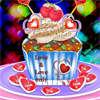 Valentin-kupa sütemények játék