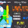 Wicky Woo a láva föld játék