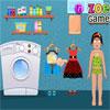 Zoe mosás ruházat játék